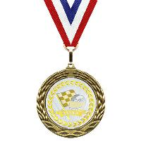 medal-metallic mylar series-racing