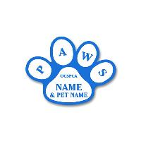 name badge-paws