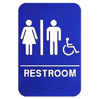 ada sign-unisex with wheelchair