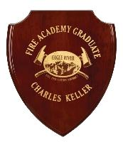 plaque-graduate shield