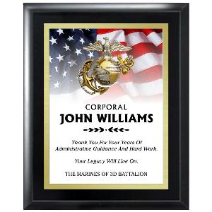 plaque-full color patriotic series