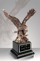 resin-metallic resin eagle