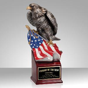 resin-patriot eagle