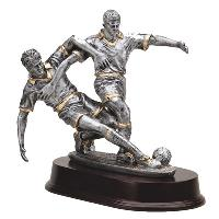 resin-double action soccer male