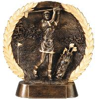 resin-golf female relief series
