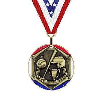 medal-tricolor series-baseball