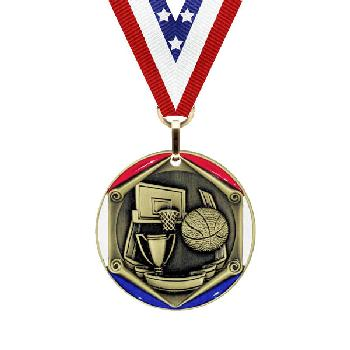 medal-tricolor series-basketball