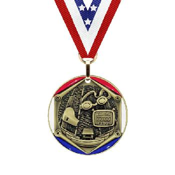 medal-tricolor series-swimming