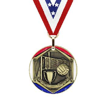 medal-tricolor series-volleyball