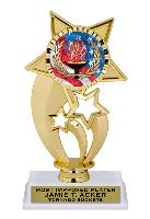 trophy-gold under star-swimming