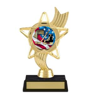 trophy-star ribbon-hockey