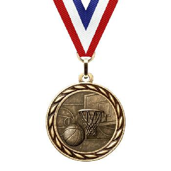 medal-scholastic series-basketball