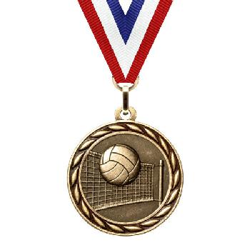 medal-scholastic series-volleyball