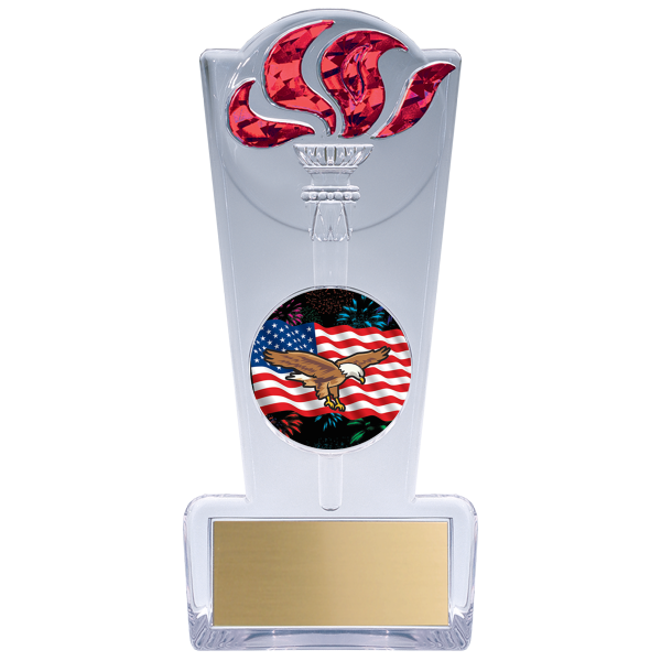 trophy-torch stand-eagle theme