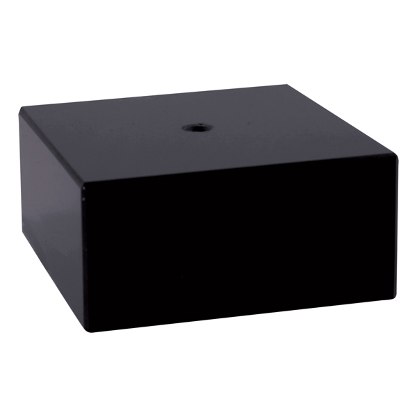 Bases Square Black Marble Ii Nettrophy