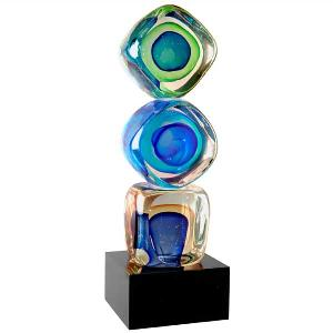 artglass-stacked block art glass