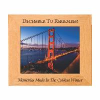 plaque-red alder picture frame