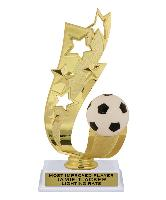 trophy-offset ribbon series-soccer