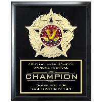 plaque-star blazer series-bowling