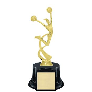 trophy-achiever series II-cheerleading