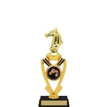 trophy-all star mylar riser-equestrian