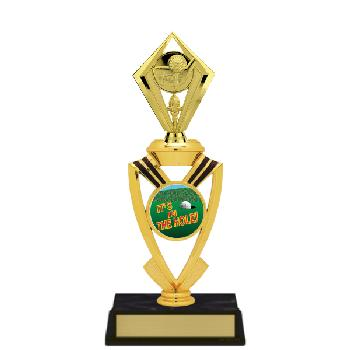trophy-all star mylar riser-golf