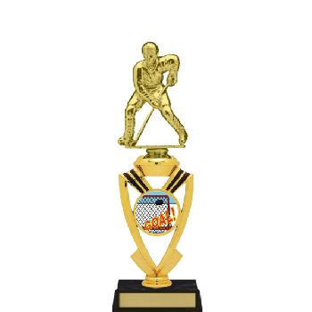 trophy-all star mylar riser-hockey
