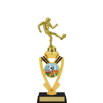 trophy-all star mylar riser-soccer