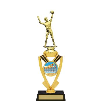 trophy-all star mylar riser-volleyball