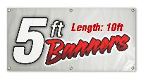 banner-full color-5' x 10'