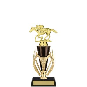 trophy-gold black cup series-equestrian