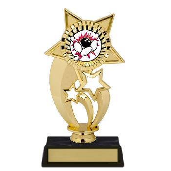 trophy-gold under star-bowling