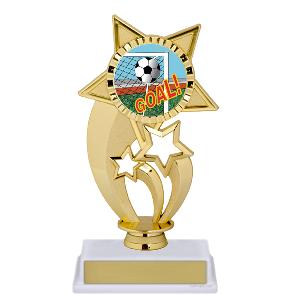 trophy-gold under star-soccer