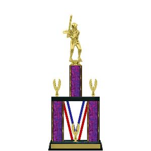 trophy-majestic ribbon series-baseball
