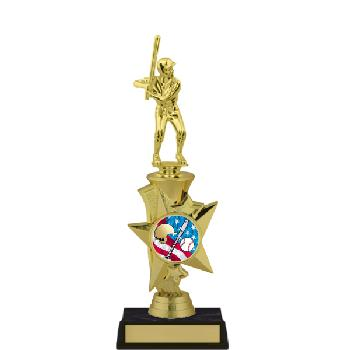 trophy-rising star series II-baseball