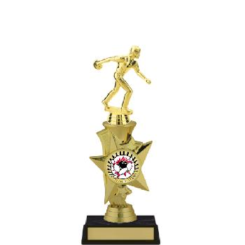 trophy-rising star series II-bowling