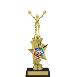 trophy-rising star series II-cheerleading