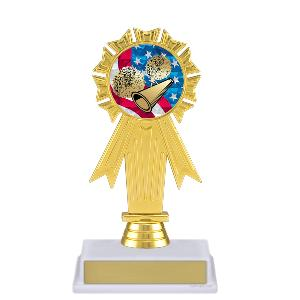 trophy-rosette ribbon-cheerleading