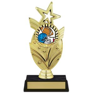 trophy-star mylar series-football