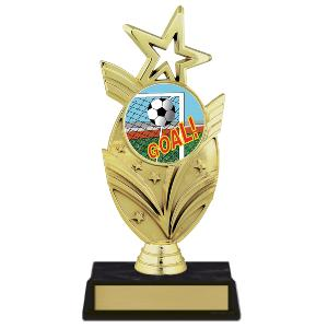 trophy-star mylar series-soccer