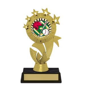 trophy-star ribbon II-baseball