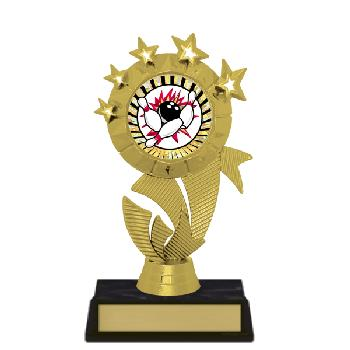 trophy-star ribbon II-bowling