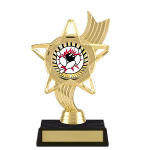 trophy-star ribbon-bowling
