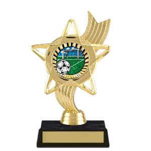 trophy-star ribbon-soccer