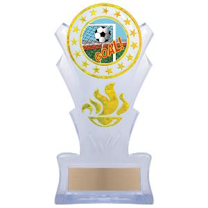 trophy-star torch stand-soccer
