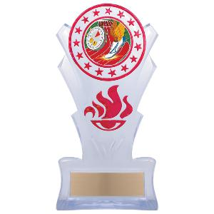 trophy-star torch stand-track and field