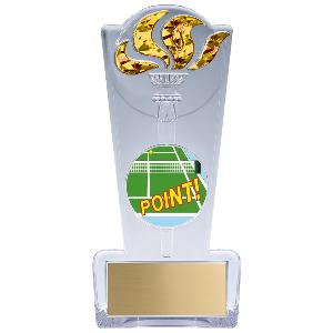 trophy-torch stand-tennis
