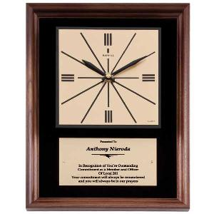 plaque-retro clock II