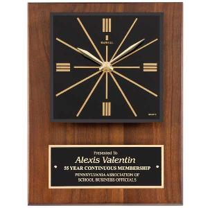 plaque-retro clock