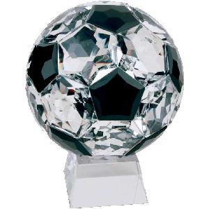 glass-crystal soccerball